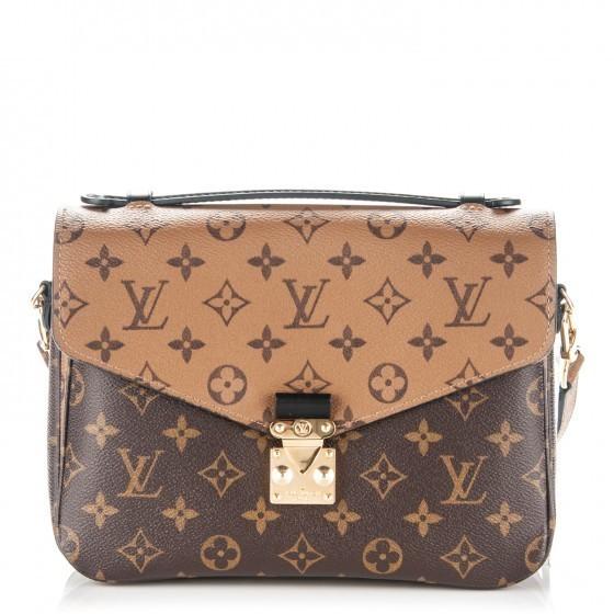 Louis Vuitton Metis Pochette Monogram Reverse Brown