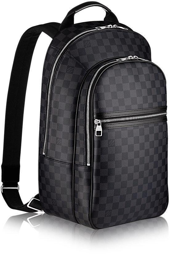 Louis Vuitton Backpack Michael NM Damier Graphite Noir
