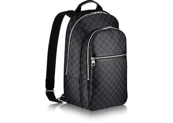 3e1e37dd5f75 Louis Vuitton Backpack Michael NM Damier Graphite Noir