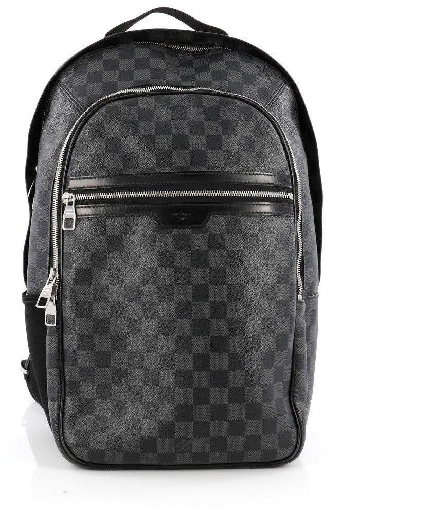 Louis Vuitton Michael Damier Graphite Black