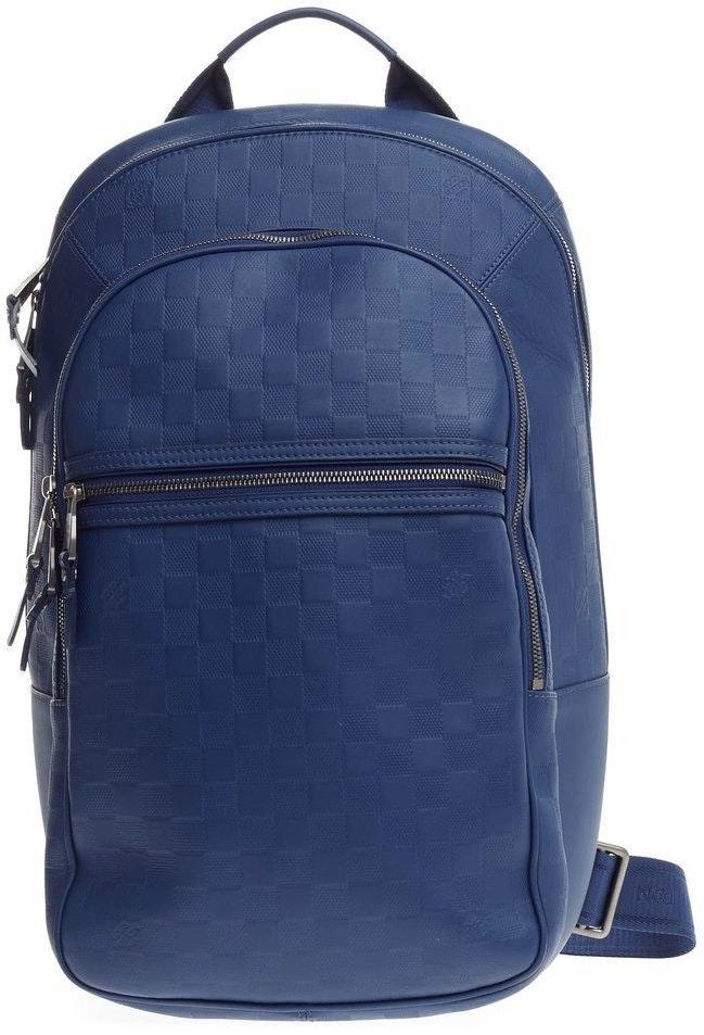 Louis Vuitton Michael Nm Damier Infini Blue