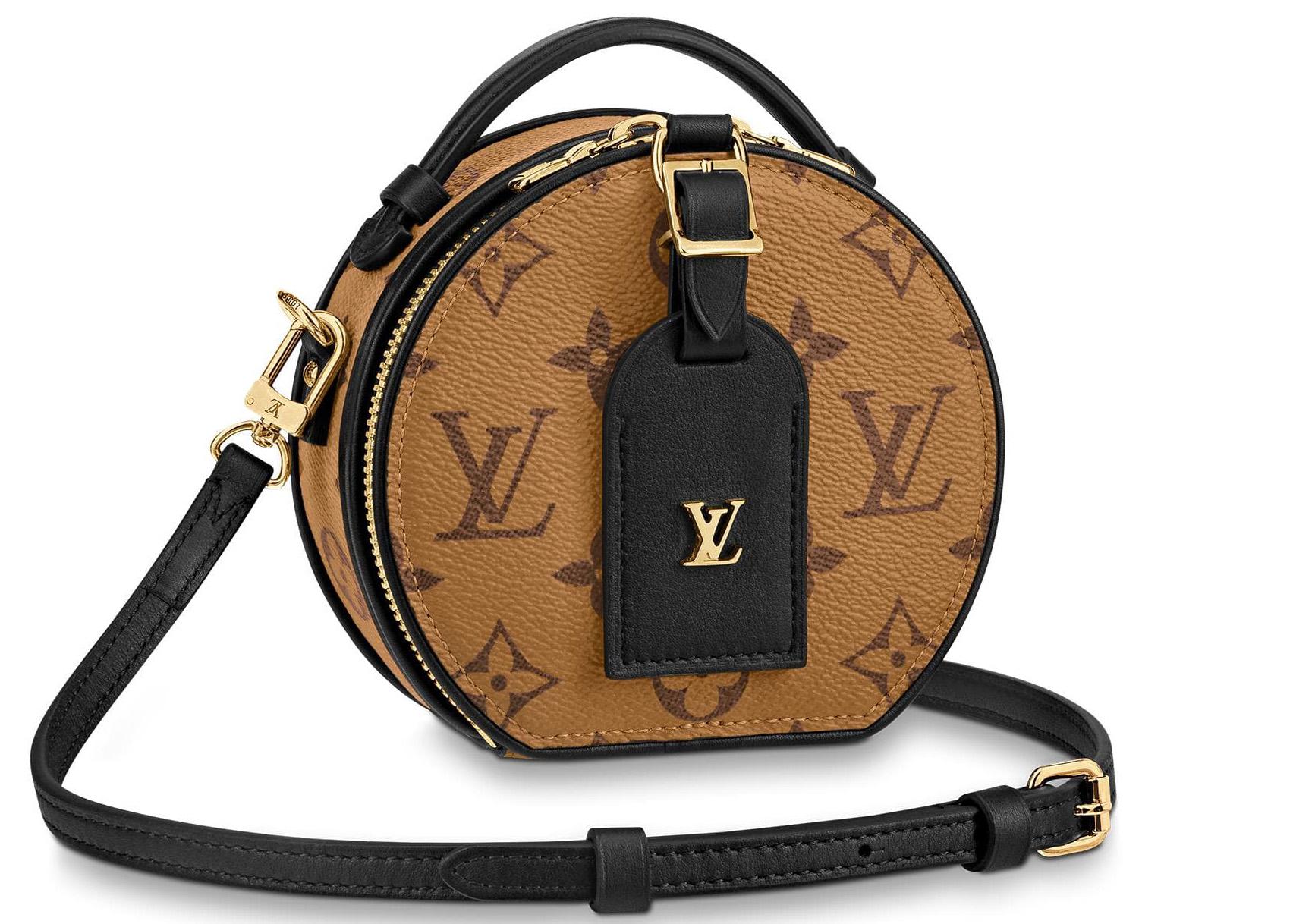 Louis Vuitton Mini Boite Chapeau Monogram Reverse Brown