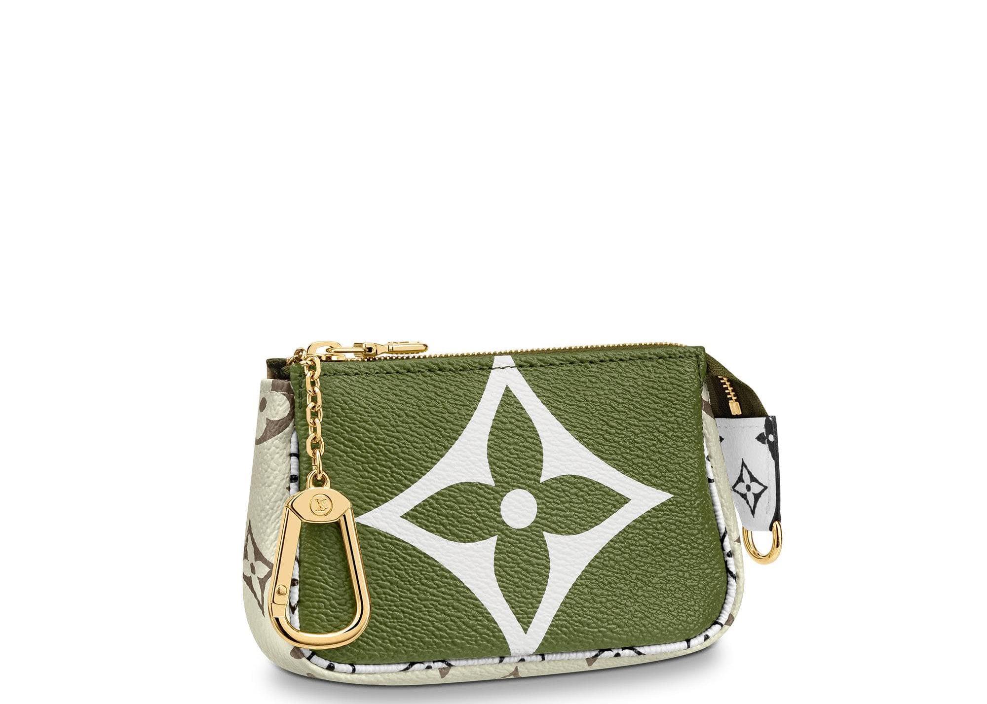 Louis Vuitton Mini Pochette Giant Monogram Khaki Green/Beige