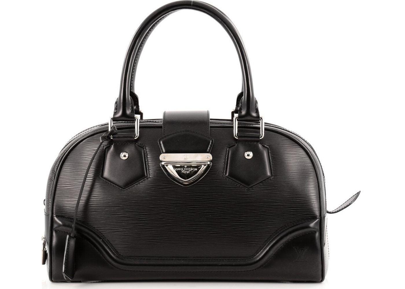 Louis Vuitton Montaigne Bowling Bag Epi GM Black. Epi GM Black 4b95c5ad29c66