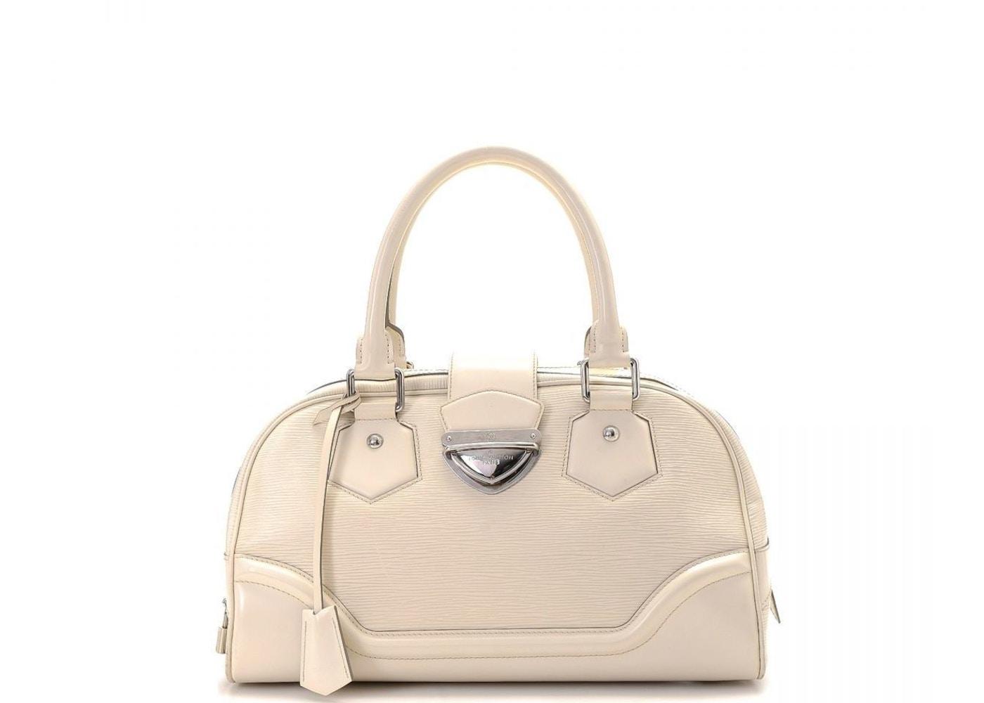 Louis Vuitton Montaigne Bowling Bag Epi GM Ivorie f5a98c73264f7