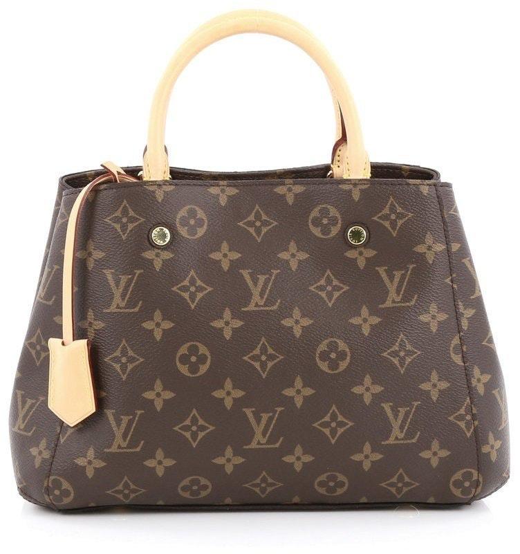 Louis Vuitton Montaigne Monogram BB Brown
