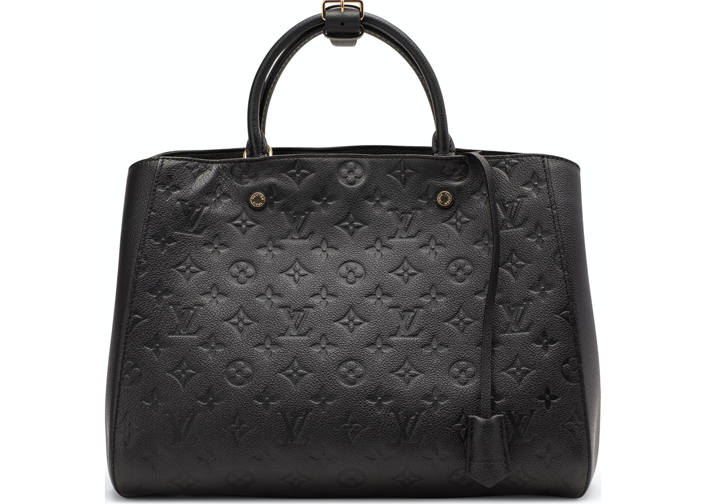 0a5c7fba8630 Louis Vuitton Montaigne Monogram Empreinte GM Noir. Monogram Empreinte GM  Noir