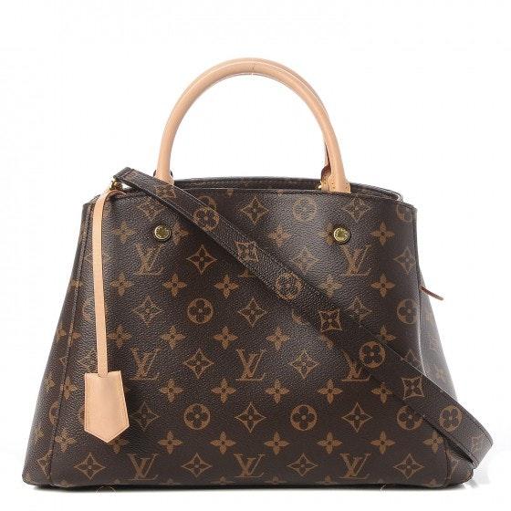 Louis Vuitton Montaigne Monogram MM Brown