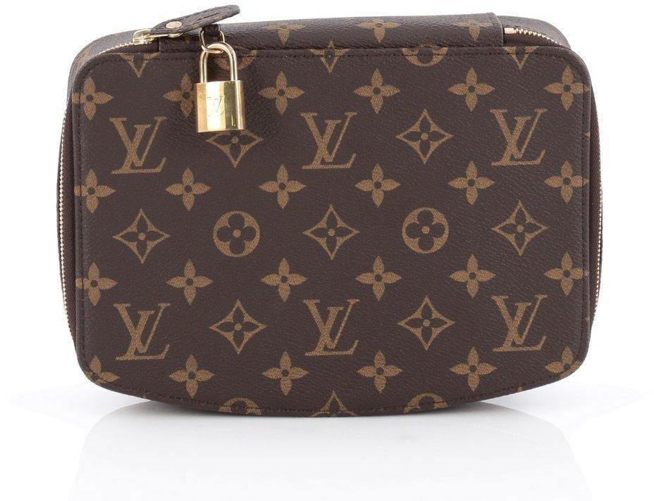 Louis Vuitton Monte Carlo Jewelry Box Monogram Brown