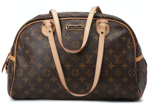Louis Vuitton Montorgueil Monogram GM Brown 602e30331659d