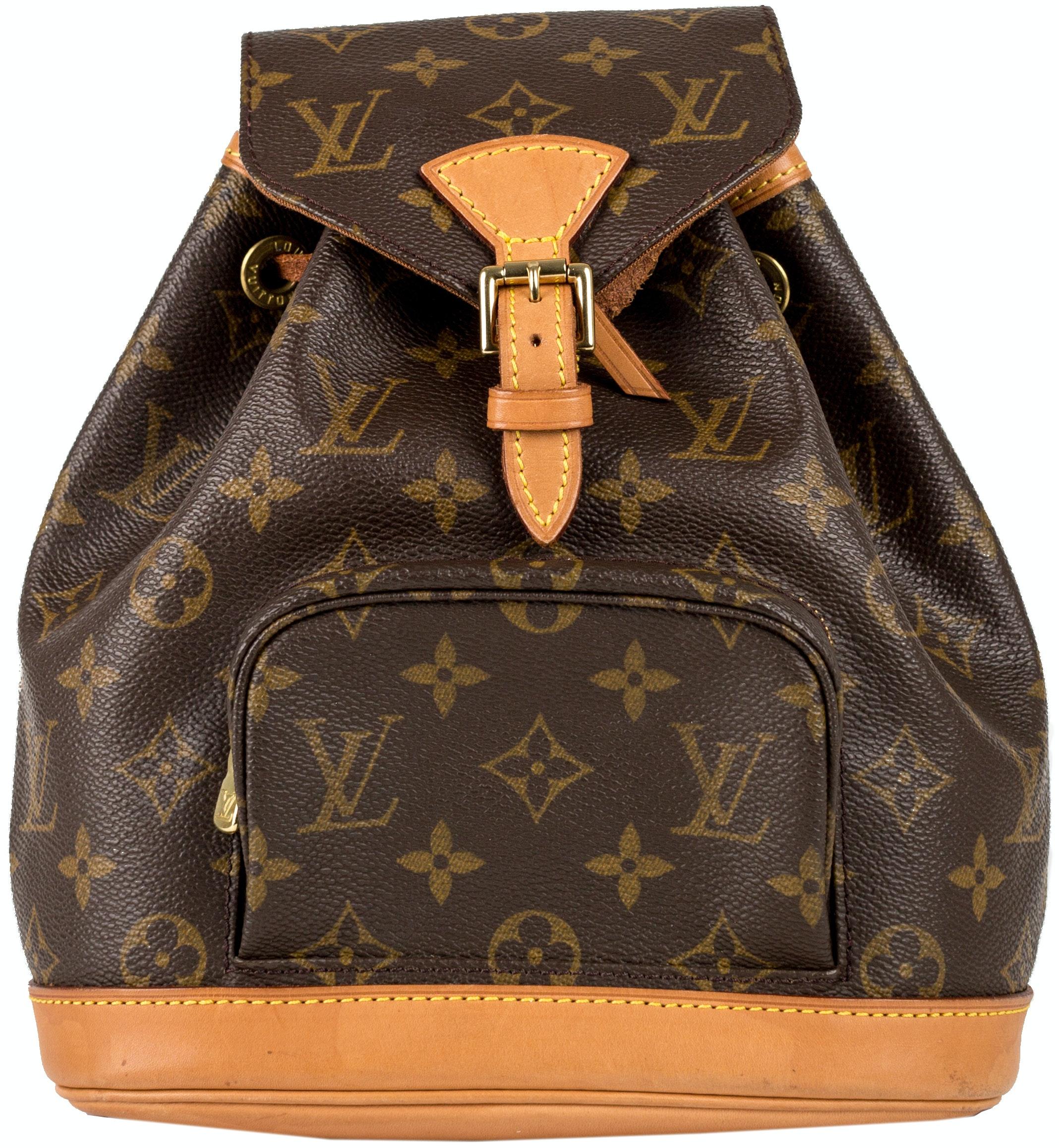 Louis Vuitton Montsouris Monogram MM Brown