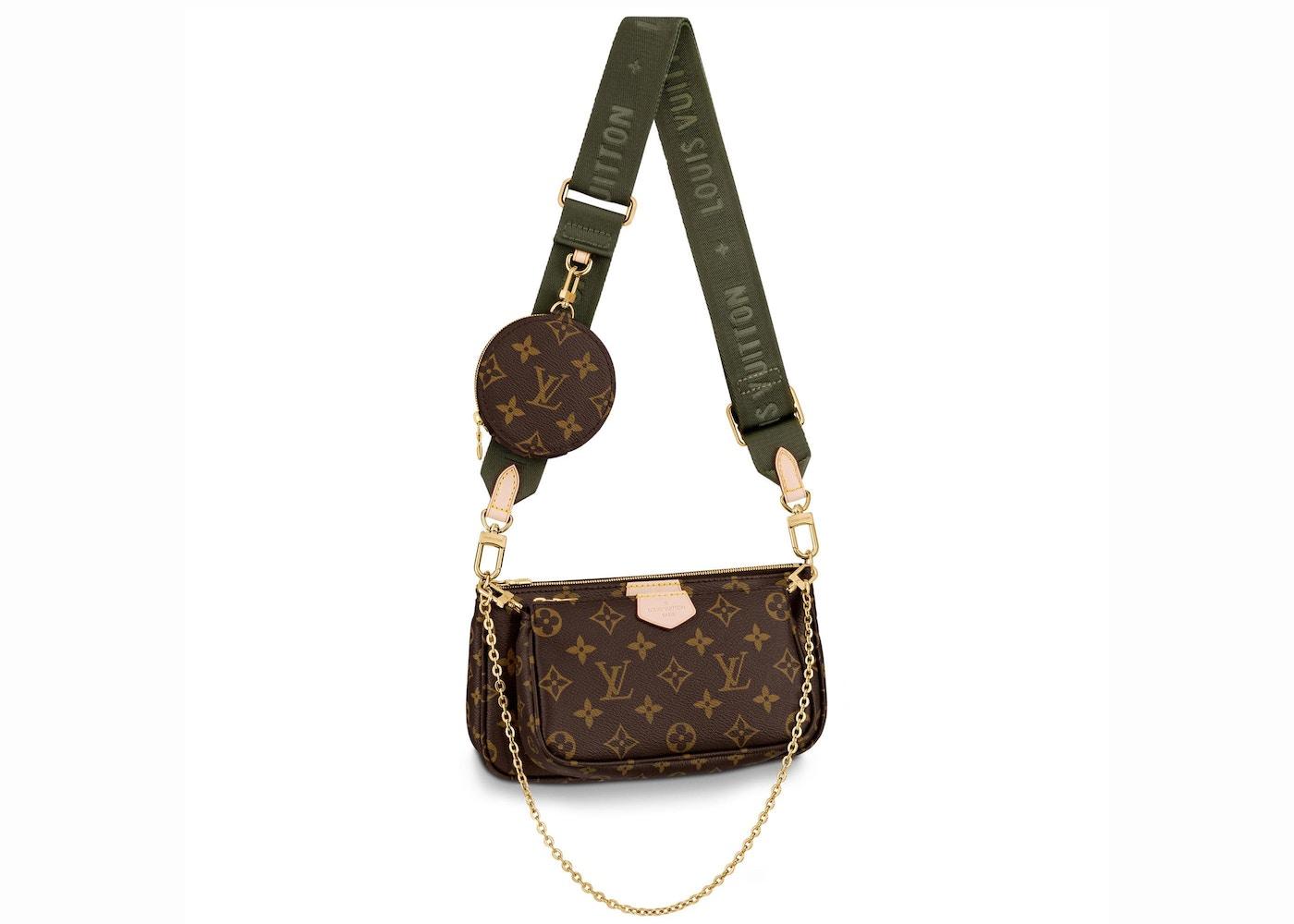 Louis Vuitton Multi Pochette Accessoires Monogram Khaki