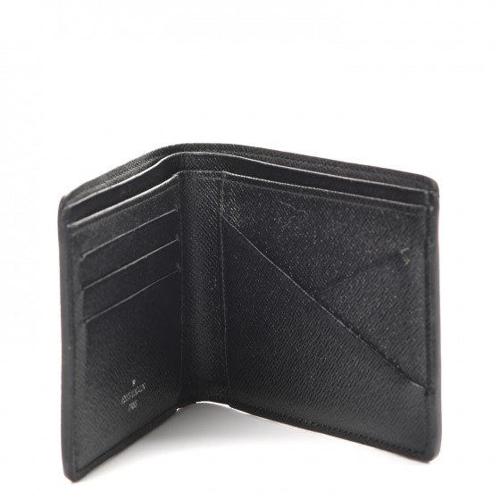 Verwonderend Louis Vuitton Multiple Wallet Damier Graphite Black/Grey/Neon Blue NI-16