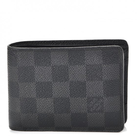 Louis Vuitton Multiple Wallet Damier Graphite Black/Grey
