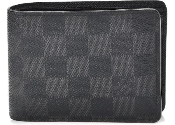 f9b1aa8515364 Louis Vuitton Multiple Wallet Damier Graphite Black Grey