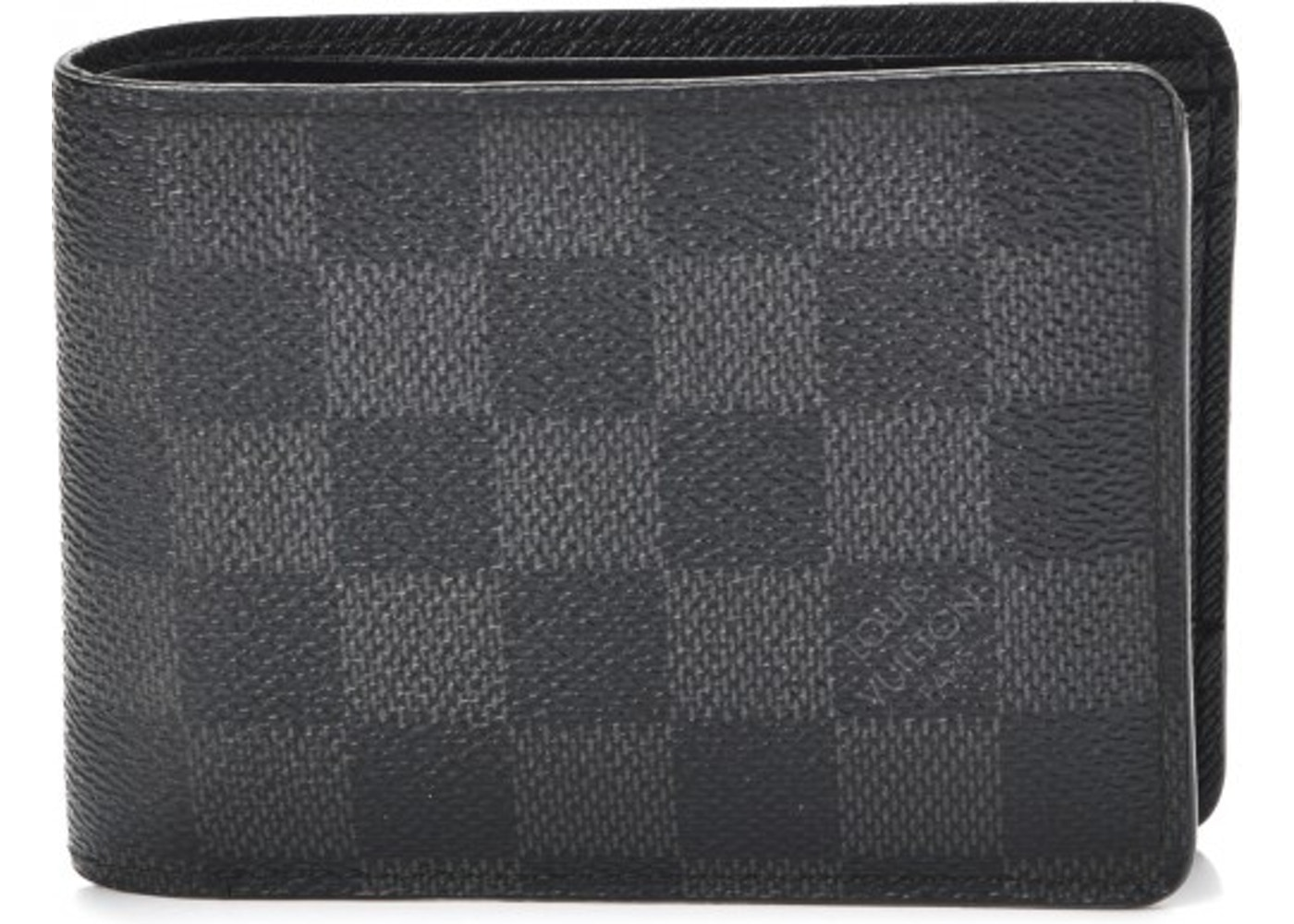 b59e908df514 Louis Vuitton Multiple Wallet Damier Graphite Black Grey. Damier Graphite  Black Grey