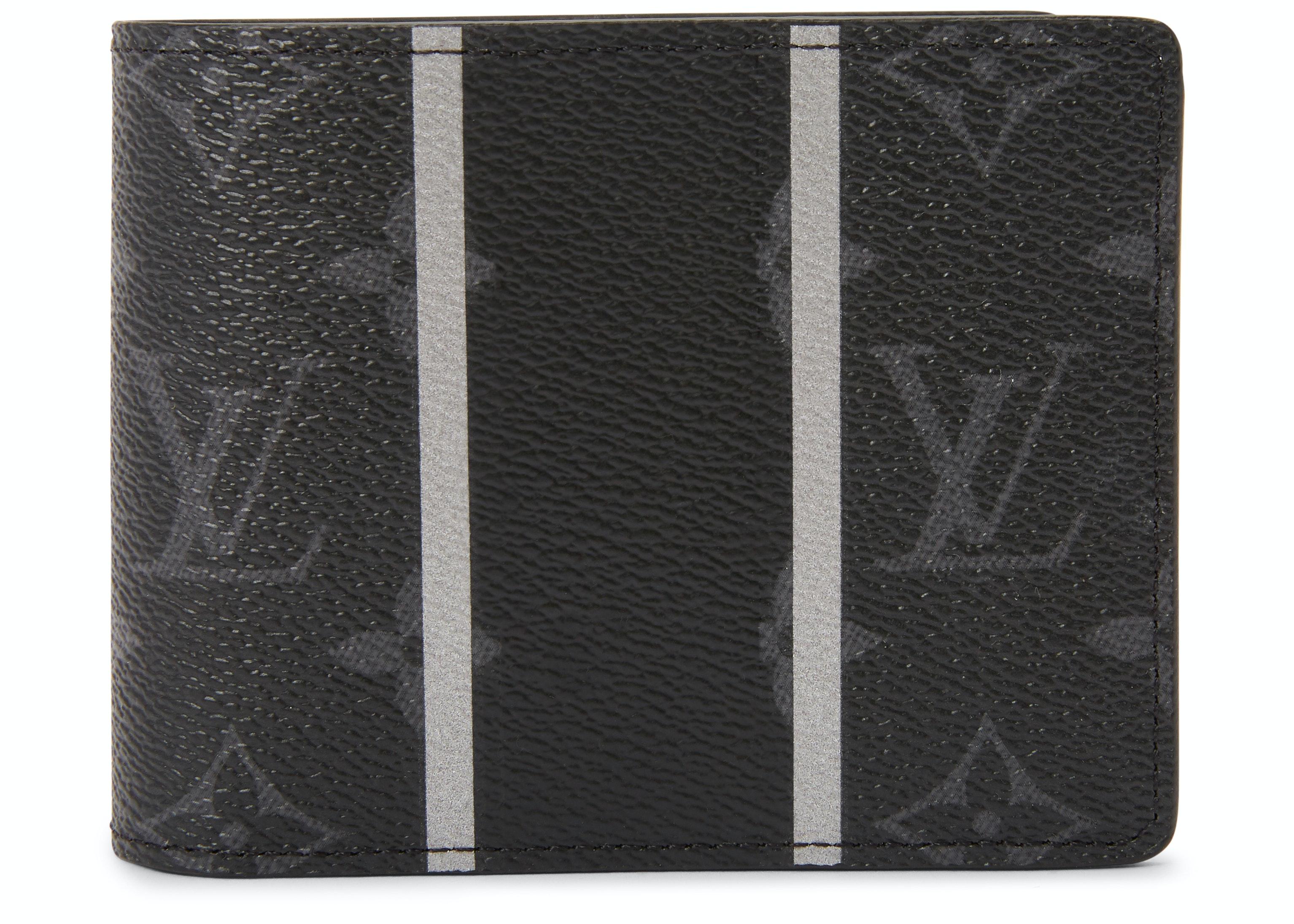 Louis Vuitton x Fragment Multiple Wallet Monogram Eclipse Black
