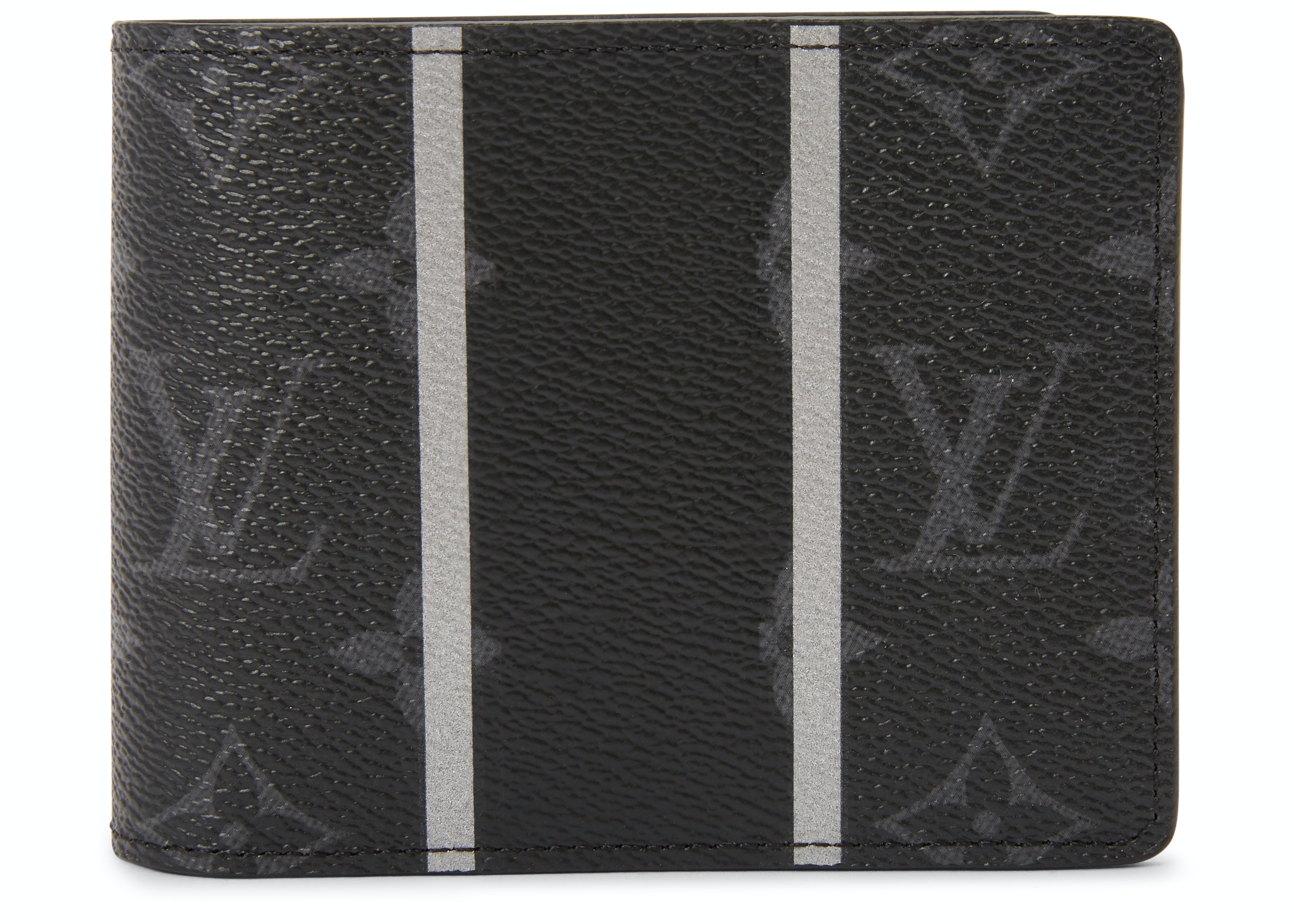 Louis Vuitton x Fragment Multiple Wallet Monogram Eclipse Black