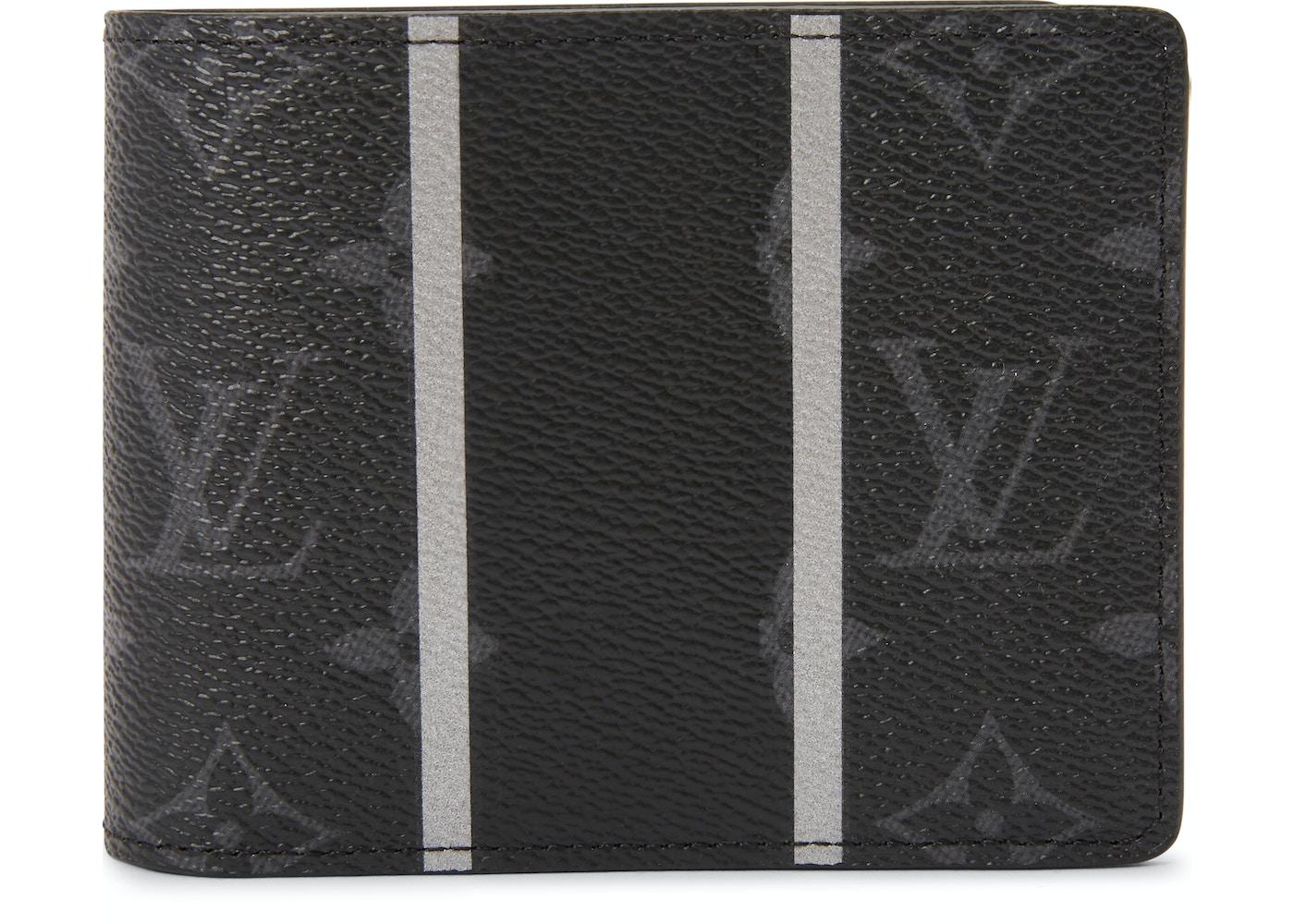 e00ffc9a14b3 Louis Vuitton x fragment Multiple Wallet Monogram Eclipse Black