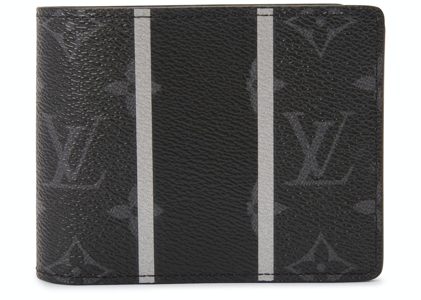 66ee3047b6d Louis Vuitton x fragment Multiple Wallet Monogram Eclipse Black