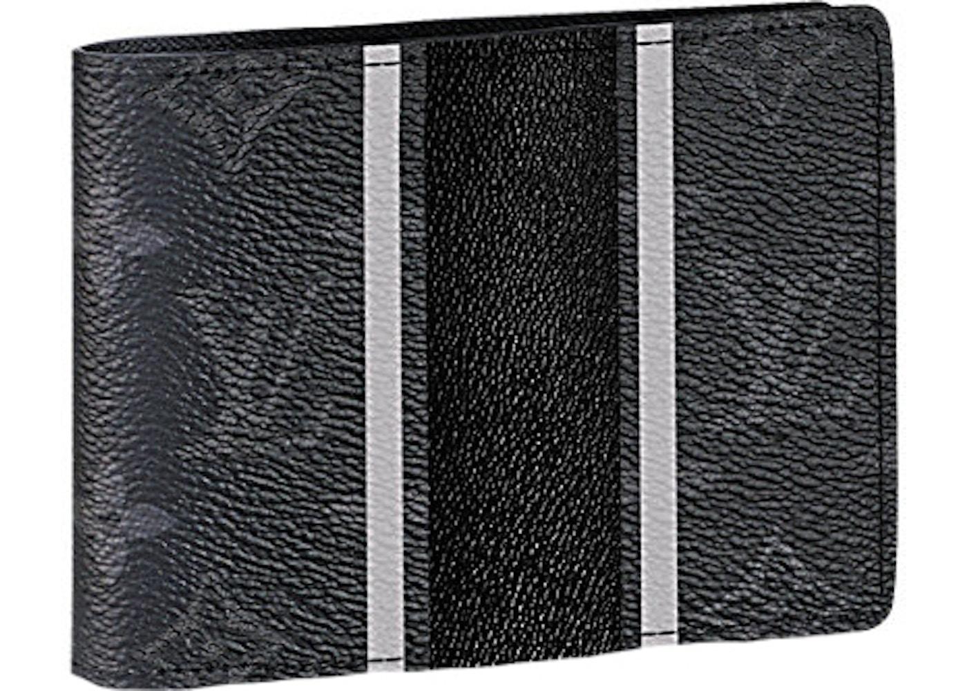 b8e3fd6dd72f Louis Vuitton x Fragment Multiple Wallet Monogram Eclipse Black