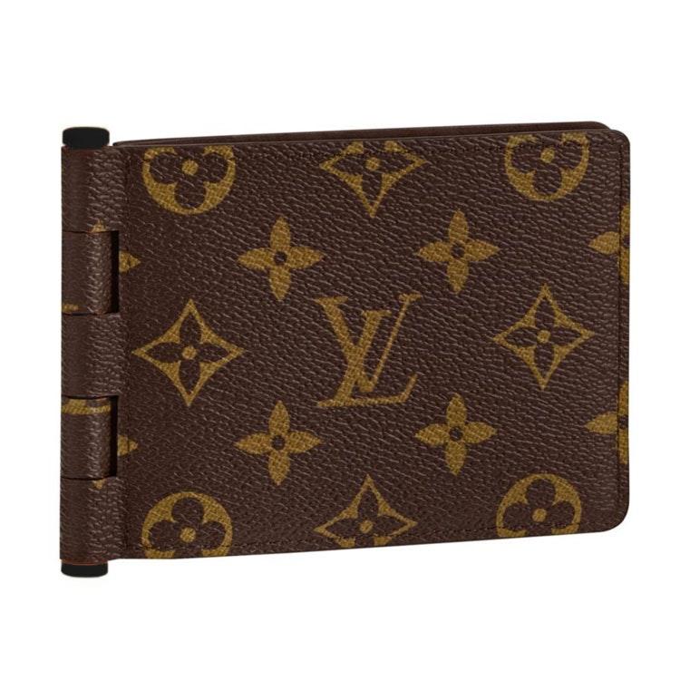 Louis Vuitton Multiple Wallet Monogram Brown/Orange