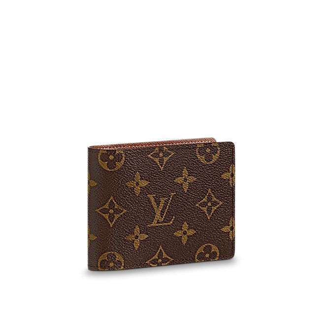 Louis Vuitton Multiple Wallet Monogram Brown
