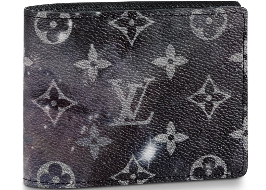 Louis Vuitton Multiple Wallet Monogram Galaxy Black/Grey Multicolor