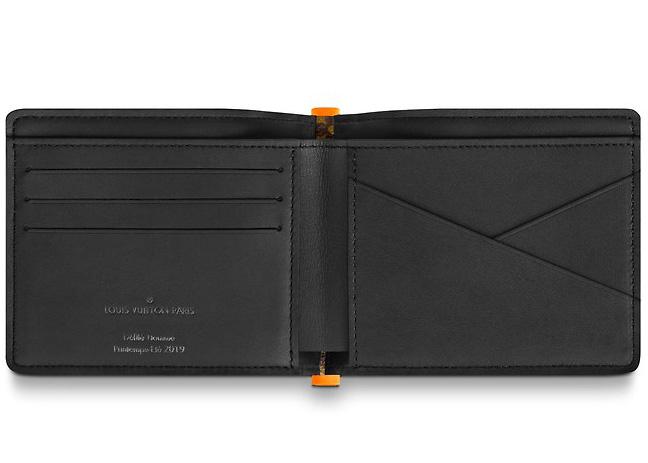 e606f164ea1 Multiple Wallet Monogram Solar Ray Orange Brown