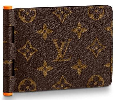 Louis Vuitton Multiple Wallet Monogram Solar Ray Orange Brown