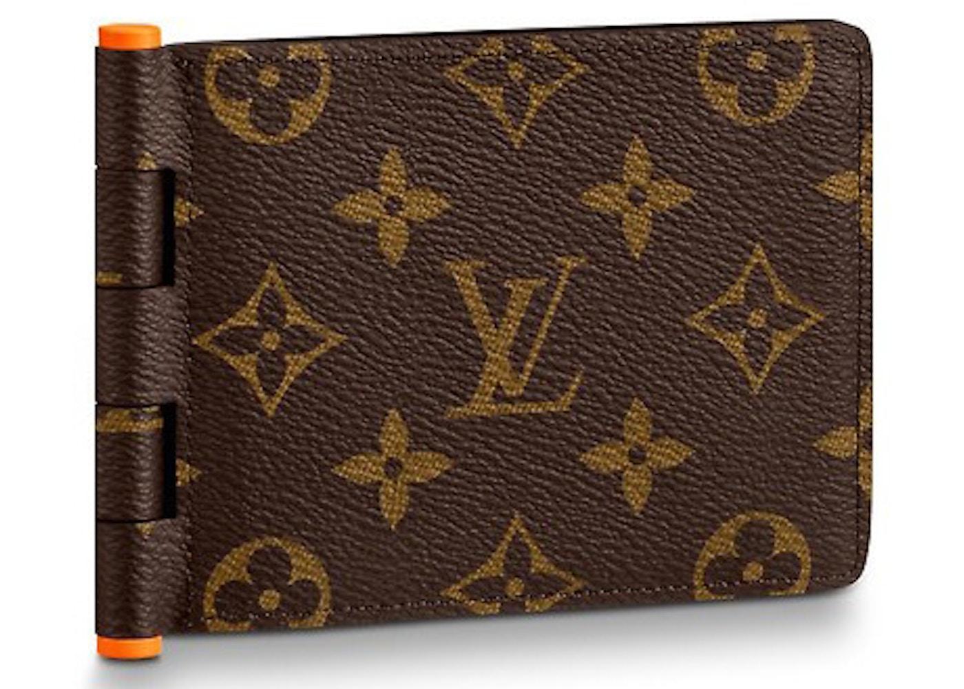 3c7d033f860 Louis Vuitton Multiple Wallet Monogram Solar Ray Orange Brown
