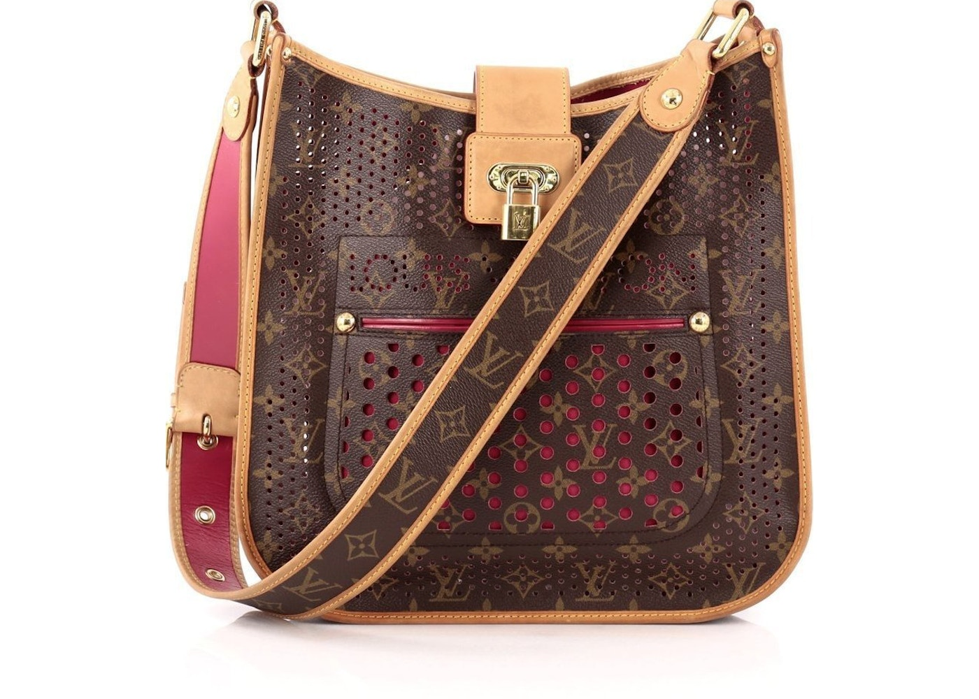 Louis Vuitton Musette Monogram Perforated Fuschia. Monogram Perforated  Fuschia 02d564ab2f