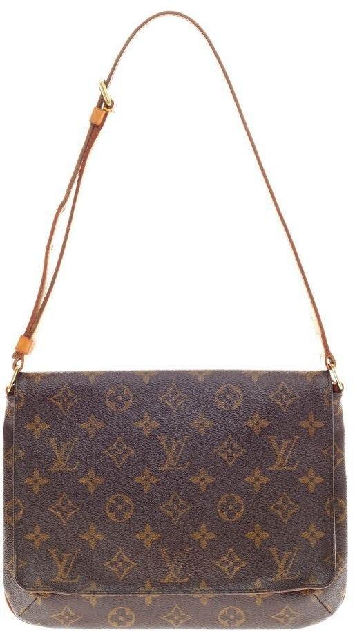 Louis Vuitton Musette Tango Long Strap Monogram Brown