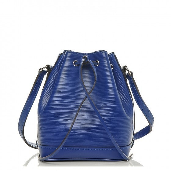 Louis Vuitton Shoulder Noe Epi Nano Blueberry