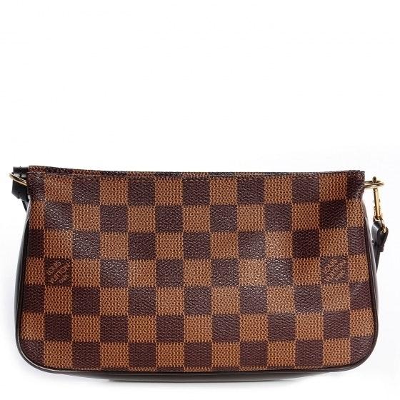 Louis Vuitton Navona Pochette Accessories Damier Ebene Brown