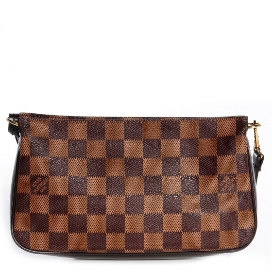 Louis Vuitton Navona Pochette Accessories Damier Ebene Brown