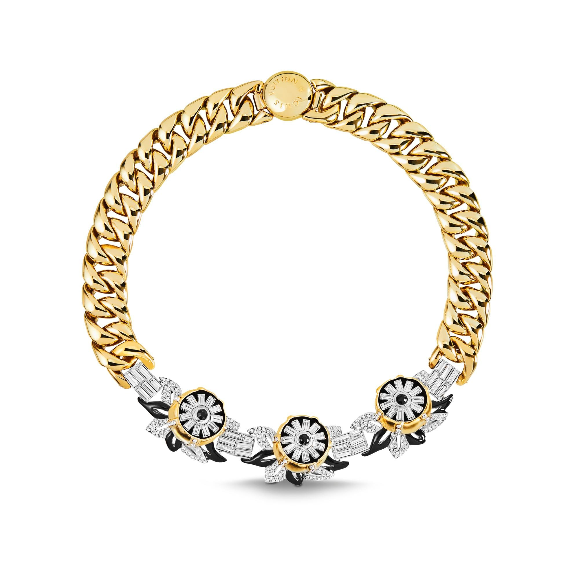 Louis Vuitton Necklace Winsdor Fleur Crew