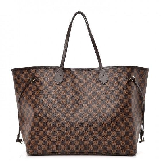 Louis Vuitton Neo Neverfull Damier Ebene GM Brown