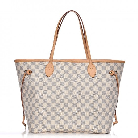 Louis Vuitton Tote Neverfull Neo Damier Azur MM