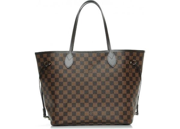 Louis Vuitton Tote Neo Neverfull Damier Ebene MM Rose Ballerine 4aa297195e62c