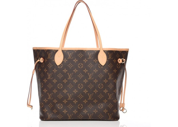 11cbd07f2 Louis Vuitton Neo Neverfull Monogram (Without Pouch) MM Cerise Lining