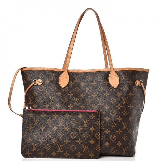 Louis Vuitton Neo Neverfull Monogram (With Pouch) MM Pivoine