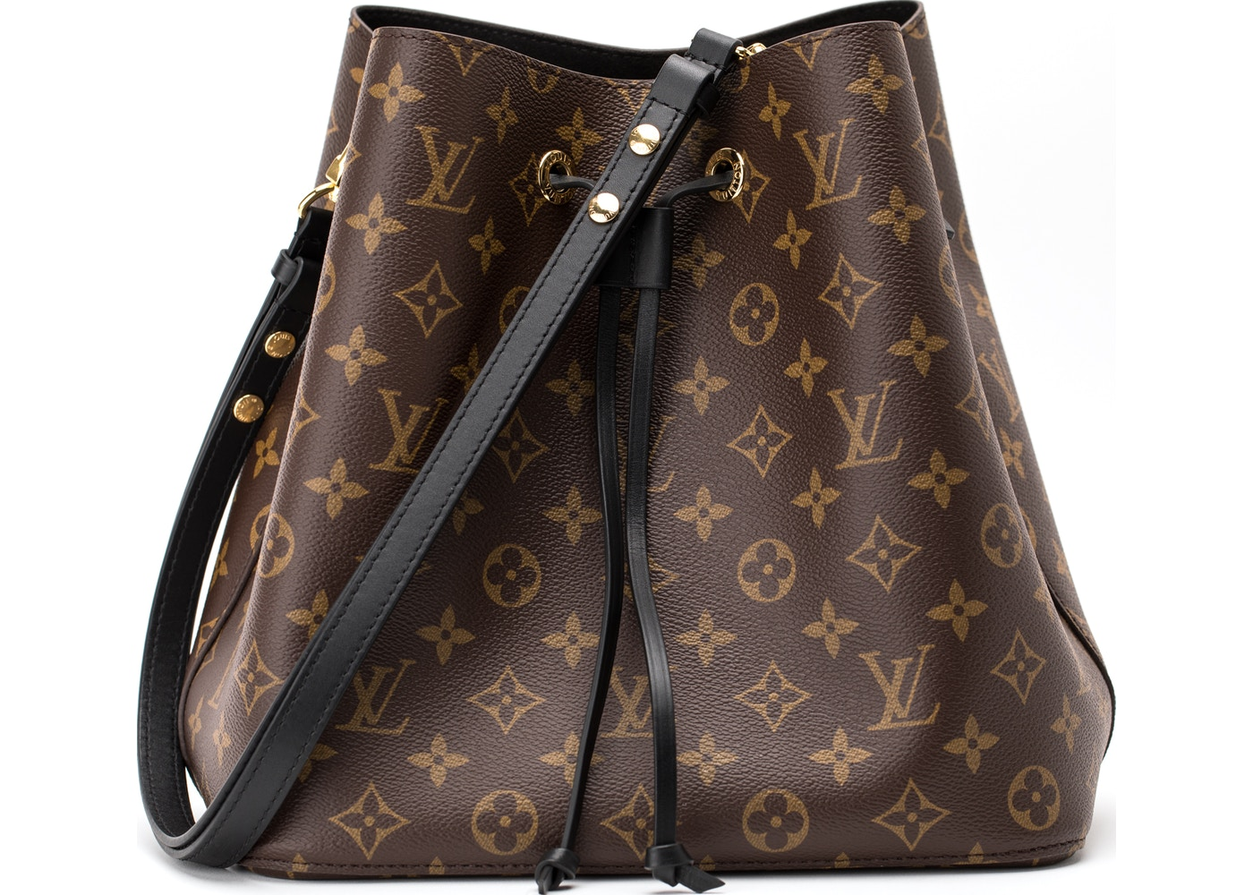 Louis Vuitton Neonoe Monogram Brown Black b8c7be41879c