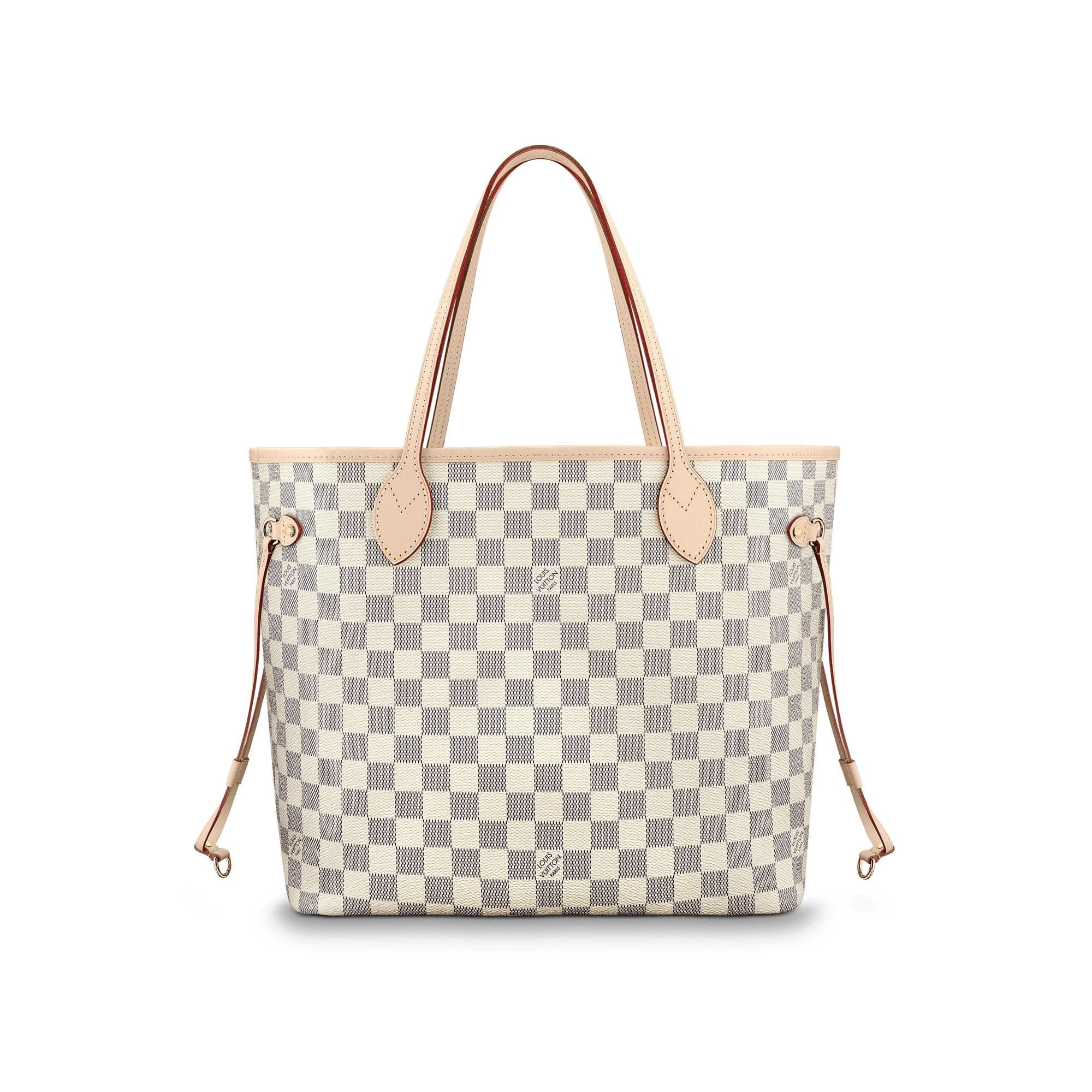 Louis Vuitton Neverfull Damier Azur MM Ivorie Grey