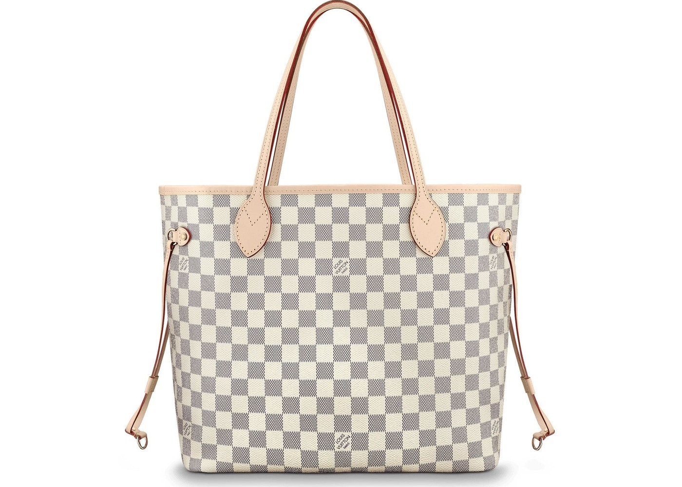 8923e40bfe1a Louis Vuitton Neverfull Damier Azur MM Ivorie Grey. Damier Azur MM Ivorie  Grey