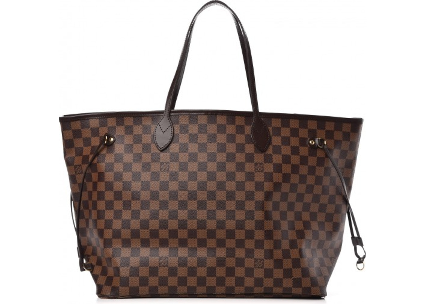 9589e9bdcc Louis Vuitton Neverfull Damier Ebene (Without Pouch) GM Cerise Lining