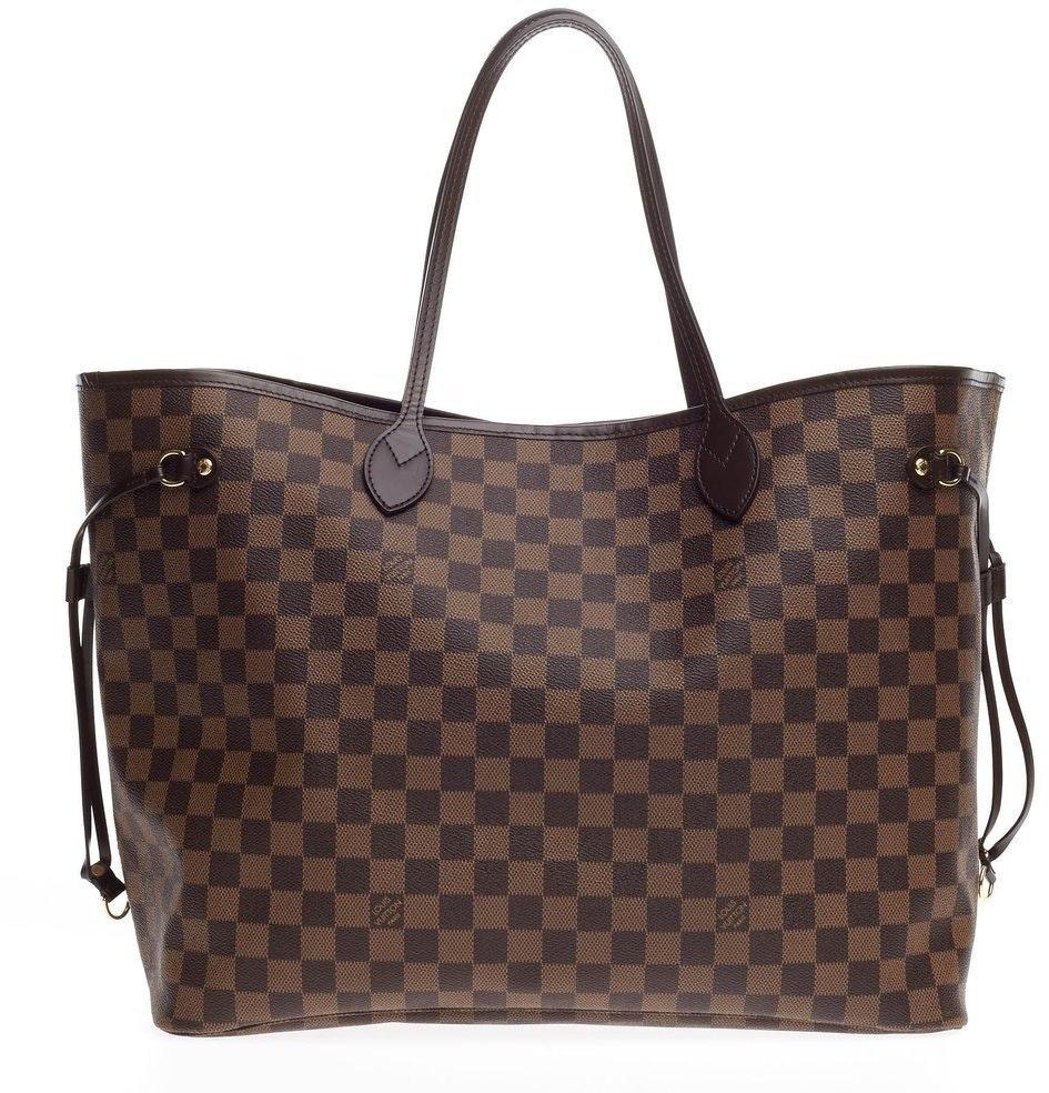 Louis Vuitton Neverfull Damier Ebene GM Brown