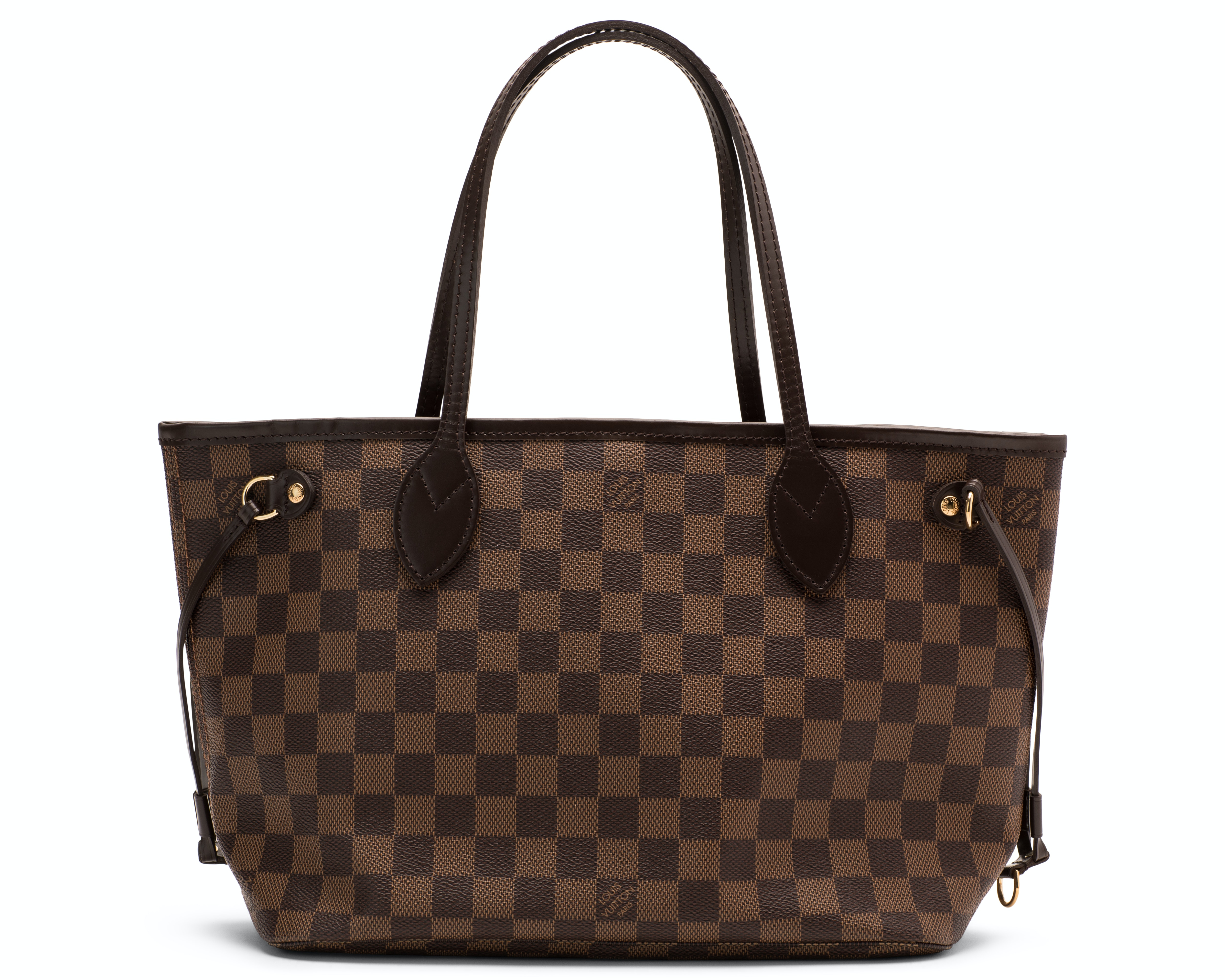 Louis Vuitton Neverfull Damier Ebene PM Brown