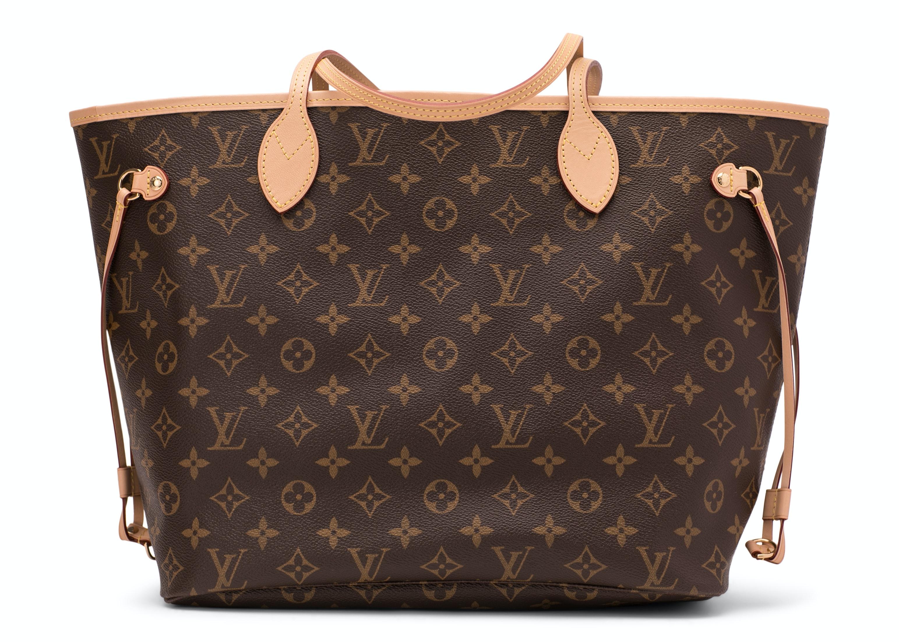 Louis Vuitton Neverfull Monogram MM Brown