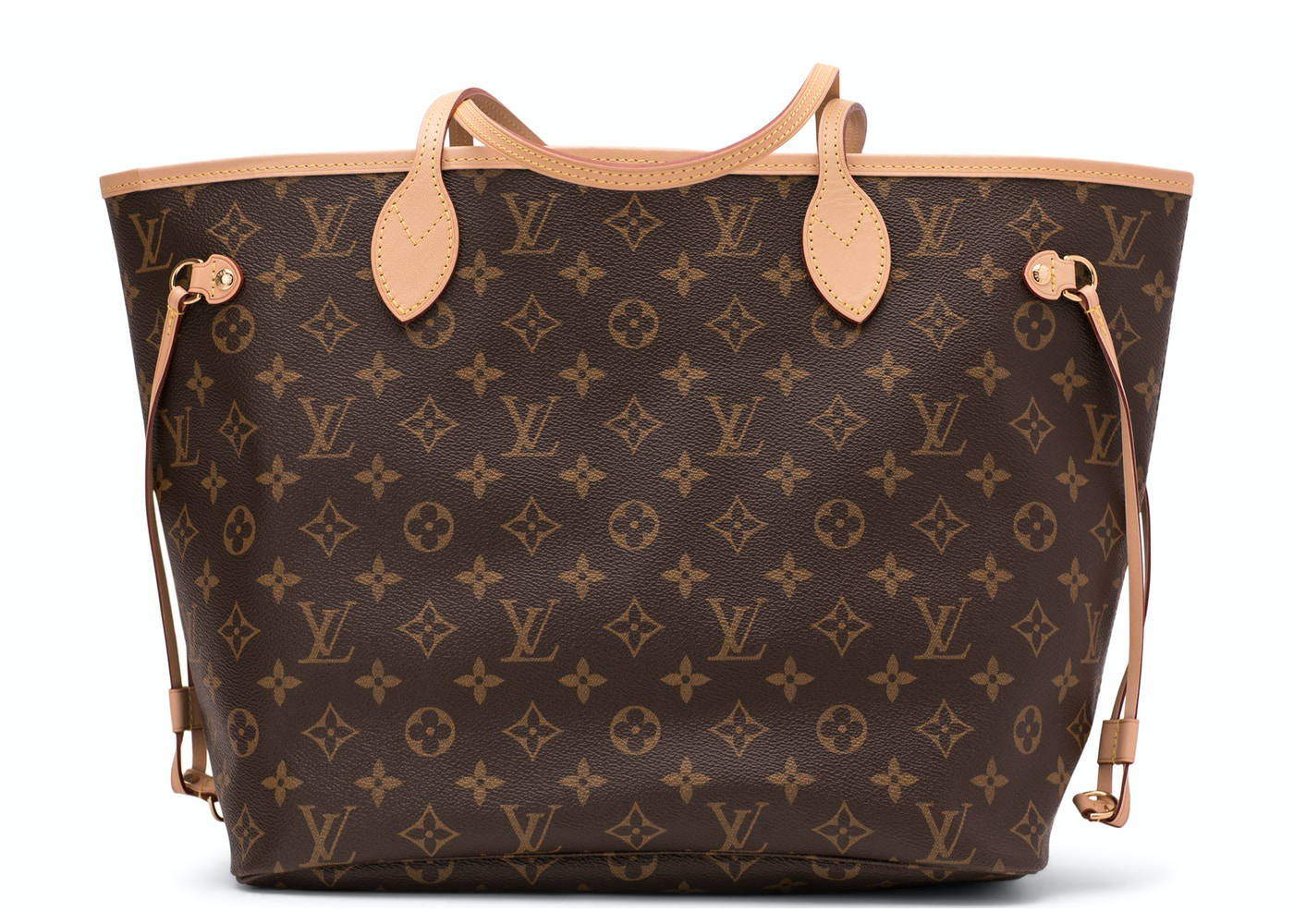 44a8dc0ea1 Louis Vuitton Neverfull Monogram (Without Pouch) MM Beige Lining